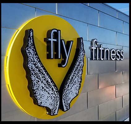 fly fitness channel letters